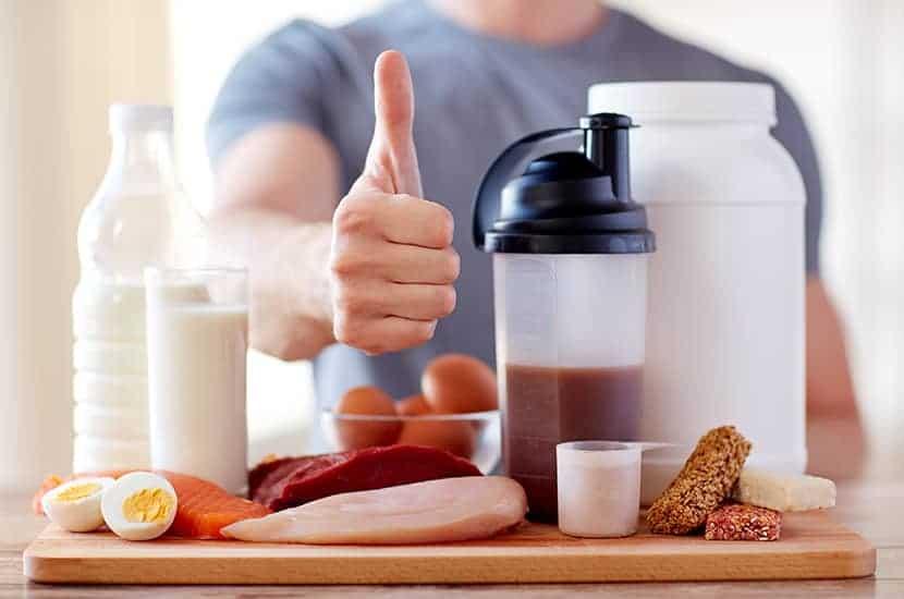 Ein guter Muskelzuwachs mit Fütterungspotenzial
