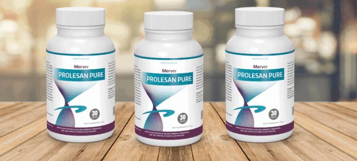 Prolesan Pure hat eine einzigartige Mischung aus Pflanzenextrakten, die Ihnen hilft, in Form zu kommen