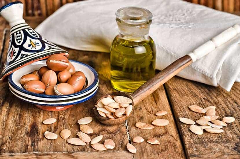 Arganöl wird als antibakterielles und entzündungshemmendes Mittel eingesetzt