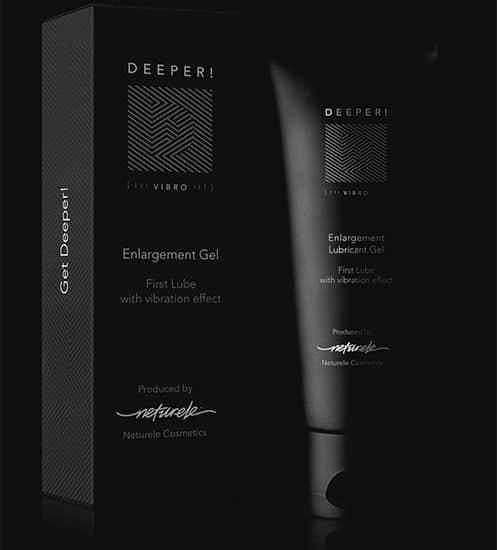 Deeper ist ein leicht aufzutragendes Gel, das zur Verbesserung der männlichen sexuellen Leistungsfähigkeit beitragen soll