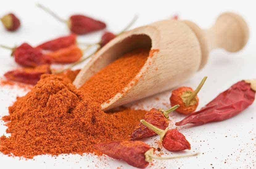 Chili-Pfeffer erhöht den Energieaufwand des Körpers