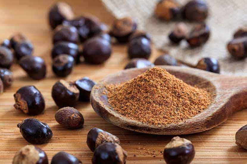 Guaranasamen haben einen hohen Koffeingehalt