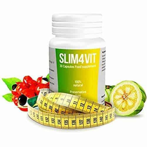 Slim4vit ist ein natürliches Nahrungsergänzungsmittel auf der Basis von 100% natürlichen Inhaltsstoffen
