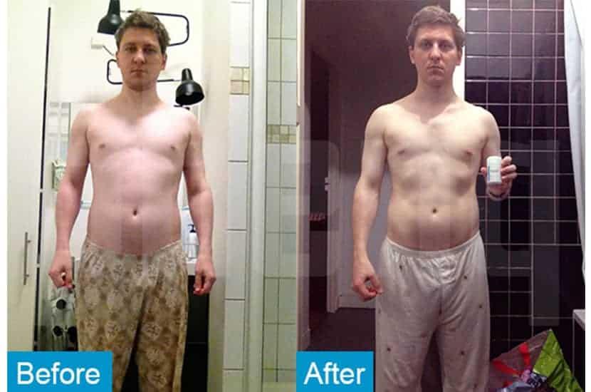 Ghislain reduzierte seinen Körperfettanteil und erhöhte die Muskelmasse mit Hilfe von PhenQ