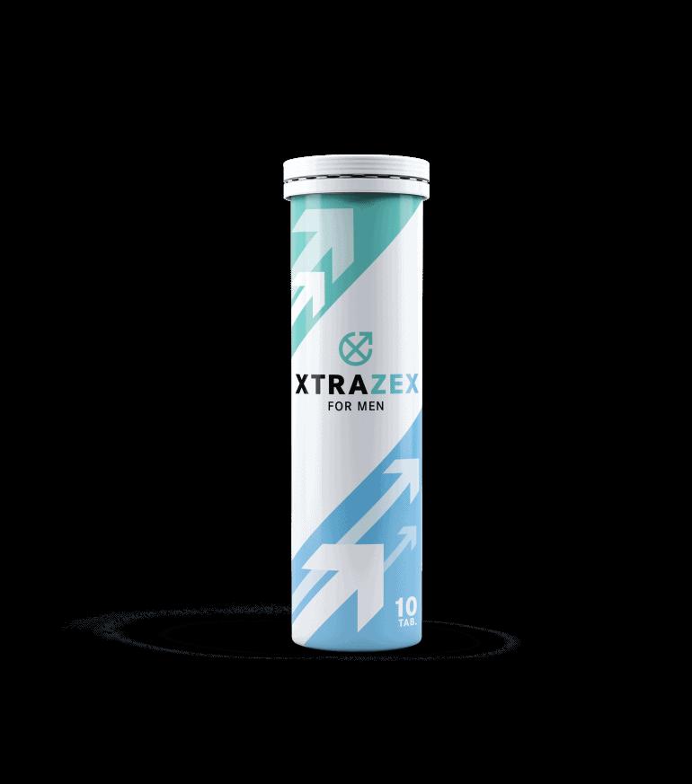Xtrazex ist ein Produkt in Form von Brausetabletten für die männliche Potenz